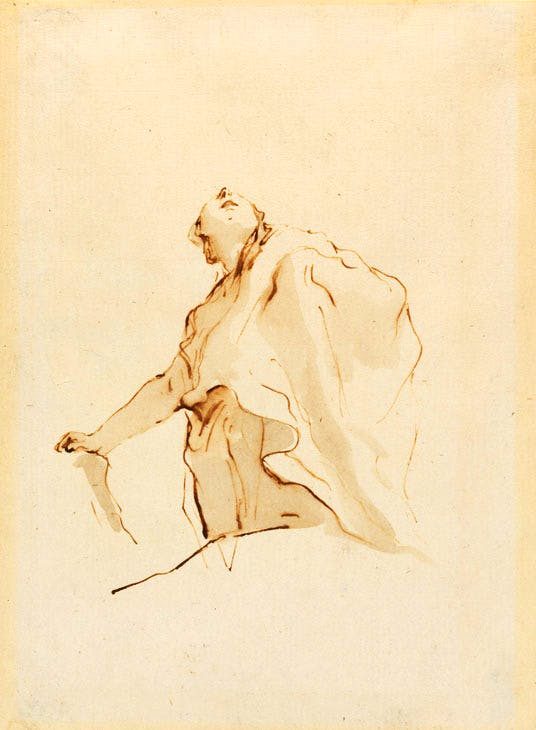 (c. 1750), Giovanni Battista Tiepolo. Image courtesy Stephen Ongpin