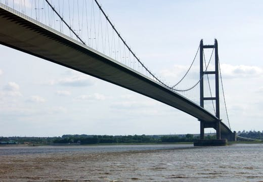 Hull's Humber Bridge is to get Grade I listed status