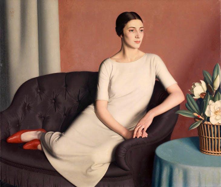 Marguerite Kelsey (1928), Meredith Frampton. © Tate