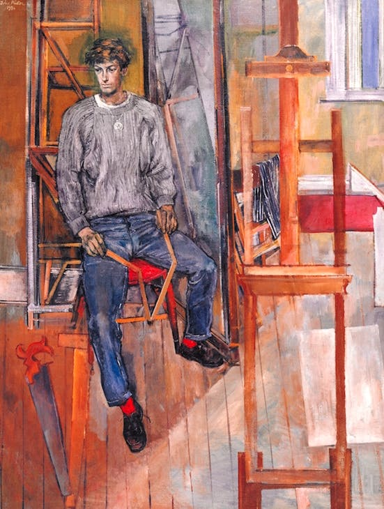 Portrait of Kevin Maybury (1956), John Minton. Tate. © The estate of John Minton