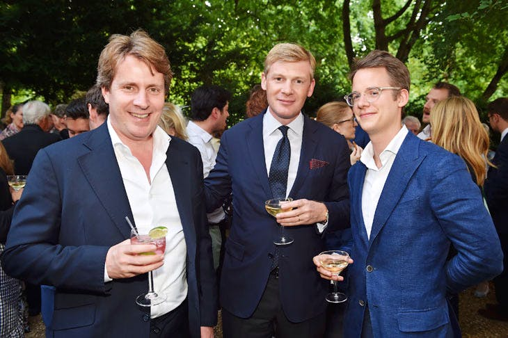 Nicolas Cattelain and Wolf Buchard at the Apollo summer party 2017. Photo © Nick Harvey