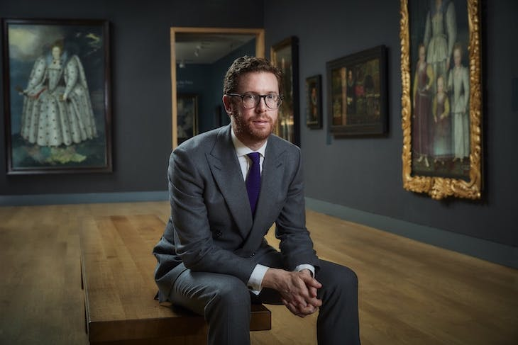 "Nicholas Cullinan, director of the National Portrait Gallery, London. Photo: <span class=""caption-credit"">© Chris Floyd</span>"