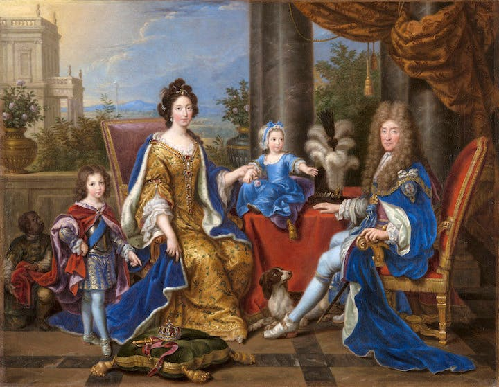 James II and Family (1694), Pierre Mignard. Royal Collection Trust © Her Majesty Queen Elizabeth II
