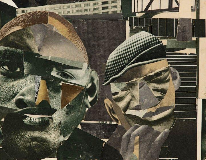 Pittsburgh Memory (1964), Romare Bearden.