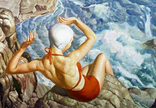 Spray (1939), Harold Williamson. © Russell-Cotes Art Gallery & Museum