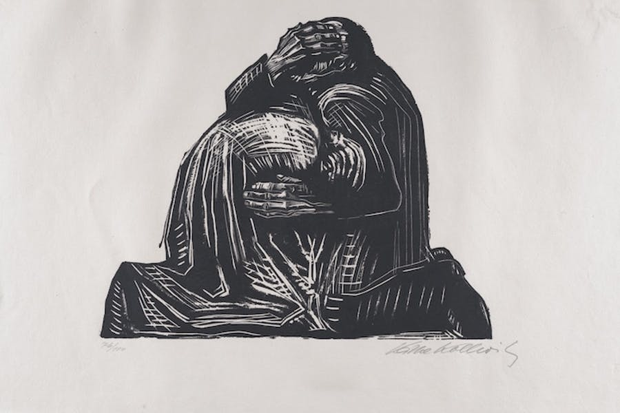 The Parents (1921–22), Käthe Kollwitz. The Metropolitan Museum of Art