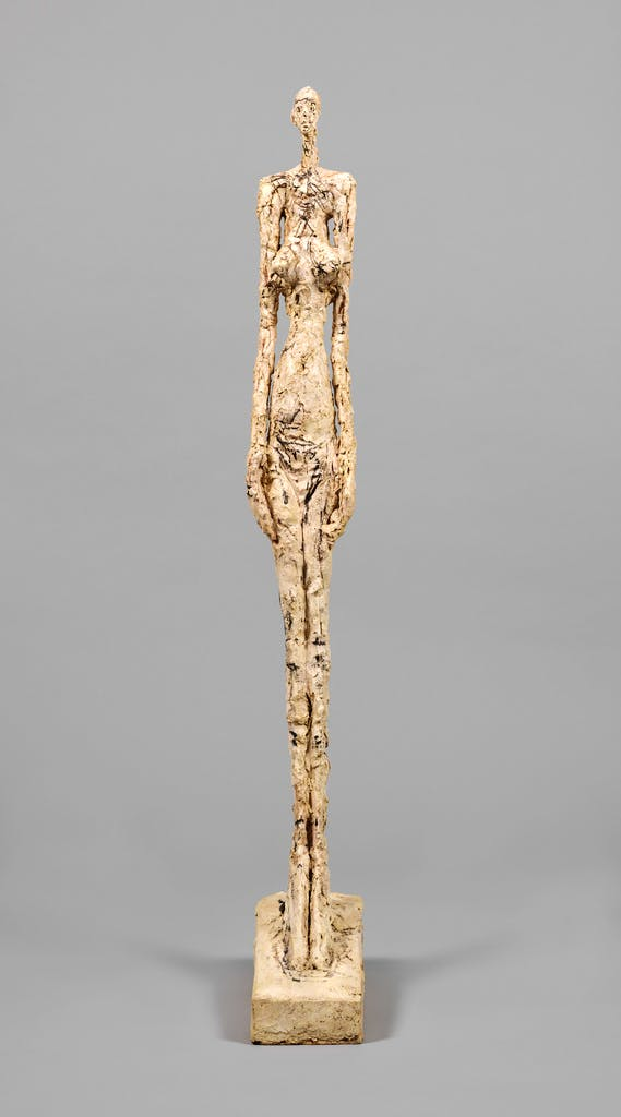 Woman of Venice V, (1956), Alberto Giacometti, Collection Fondation Alberto et Annette Giacometti, Paris, © Alberto Giacometti Estate, ACS/DACS, 2017