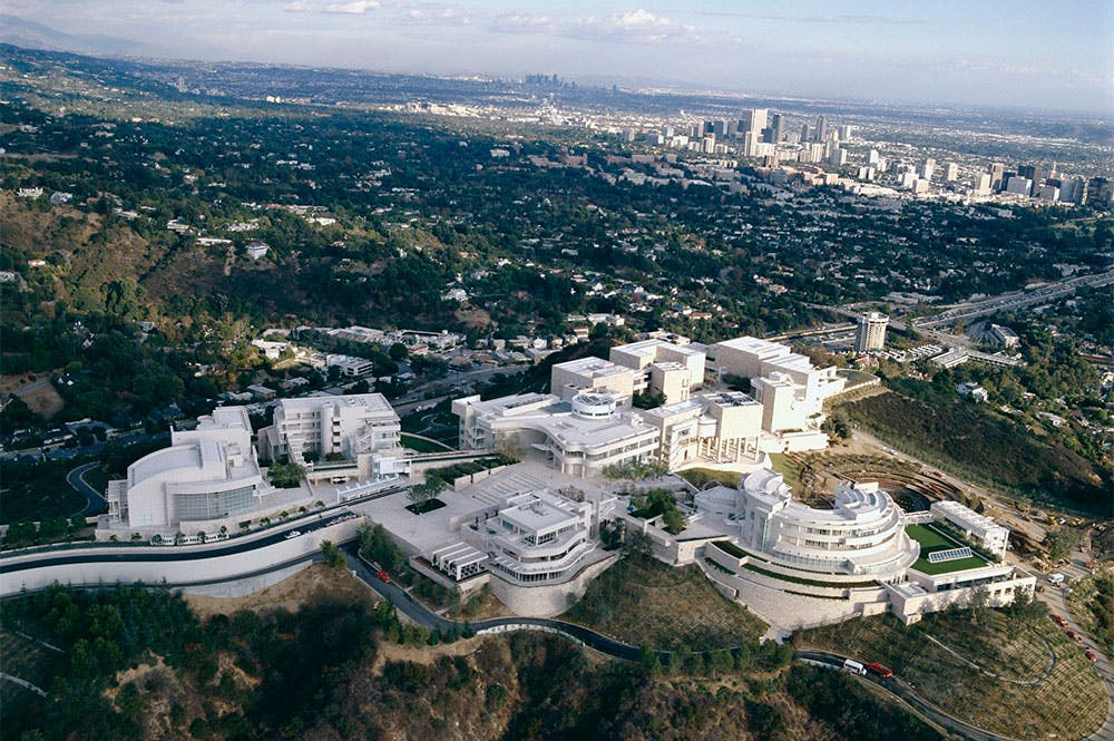 The Getty Center.