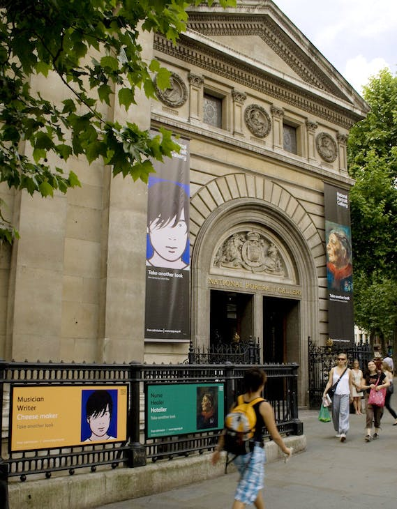 Exterior of the National Portrait Gallery, London. Image courtesy the National Portrait Gallery