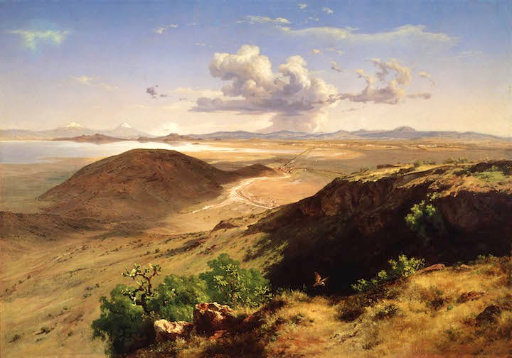 Valle de México (The Valley of Mexico) (1877), José María Velasco. Museo Nacional de Arte, Mexico City