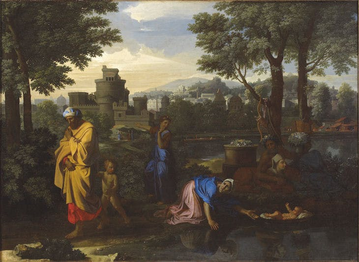 Exposition of Moses (1654), Nicholas Poussin. Ashmolean Museum, Oxford