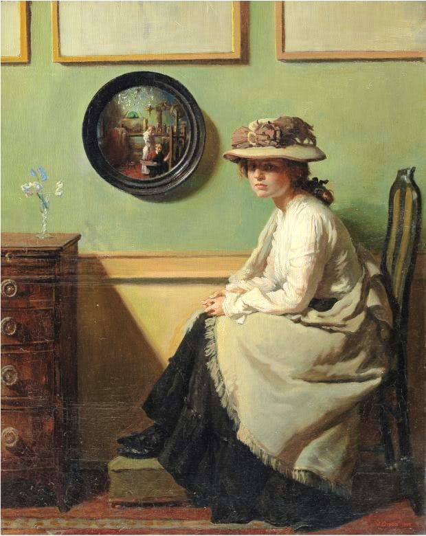 The Mirror (1900), William Orpen, Tate, London