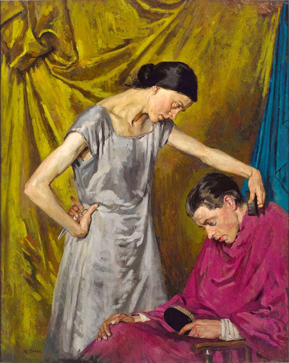 The Wife / The Haircut (c. 1926–27), Margaret Clarke. The Irish News Collection. © Artist's Estate. Photo © Irish News Collection, Belfast. Photographer: Bryan Rutledge