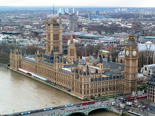 The Palace of Westminster. Photo: Wikimedia Commons