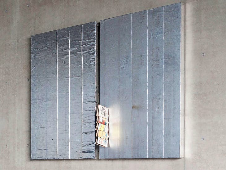 Aluminium Double Stack (2016), Theaster Gates. Courtesy Regen Projects