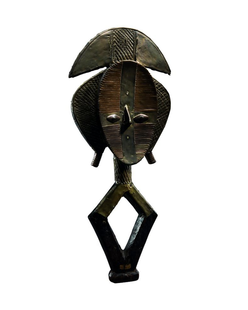 Reliquary figure, 19th century, Gabon, photo: Giancarlo Ligabue Foundation