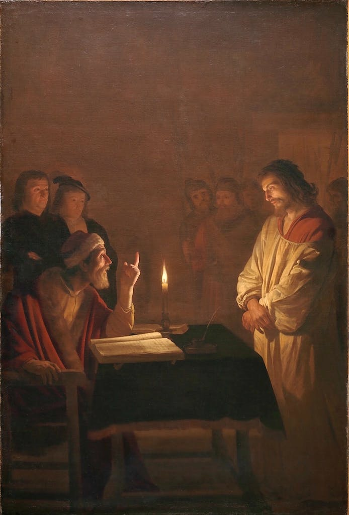 Christ before the High Priest (c. 1617), Gerrit van Honthorst. © The National Gallery, London