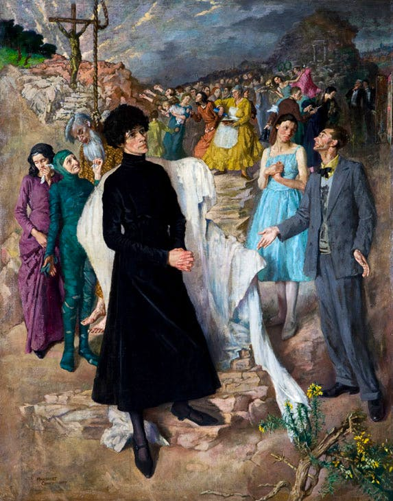 Strindbergian (1927), Margaret Clarke. © The Estate of Margaret Clarke. Collection Ulster Museum