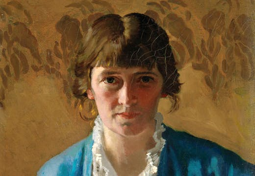 Self-portrait (detail; 1914), Margaret Clarke. © Artist's Estate. Photo © National Gallery of Ireland. Photographer: Roy Hewson