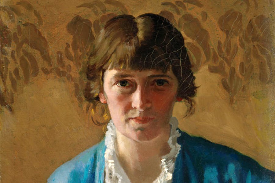 Self-portrait (detail; 1914), Margaret Clarke. © Artist's Estate. Photo © National Gallery of Ireland. Photographer: Roy Hewson