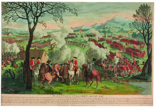 The Battle of Culloden, April 16, 1746, (1797), published by Laurie & Whittle, National Museums Scotland