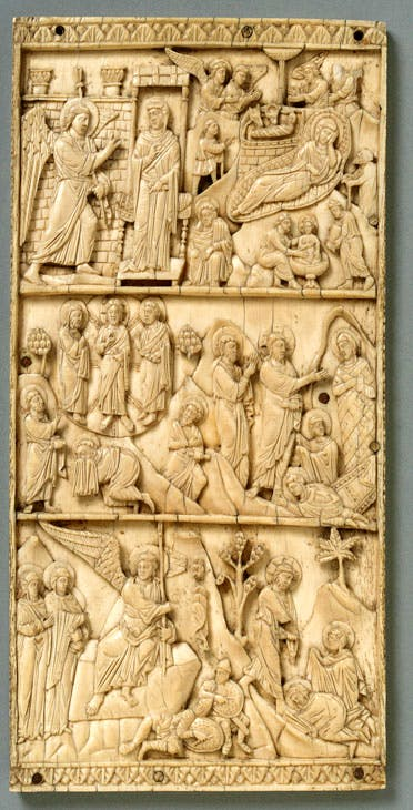 Scenes from the Life of Christ (12th century), Constantinople. © V&A Images / Victoria and Albert Museum, London