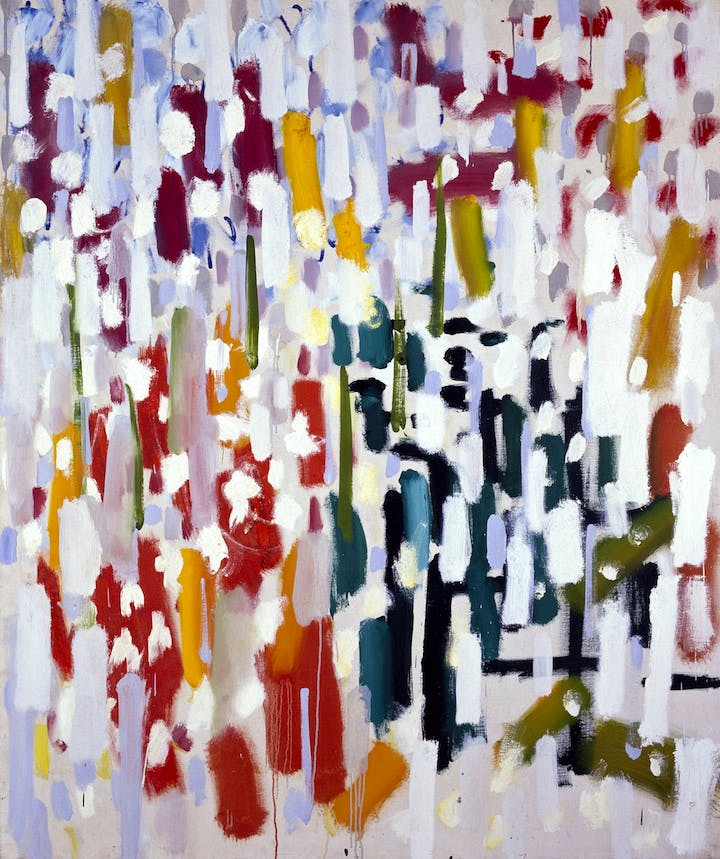 Azalea Garden: May 1956 (1956), Patrick Heron. Tate © The estate of Eileen Agar