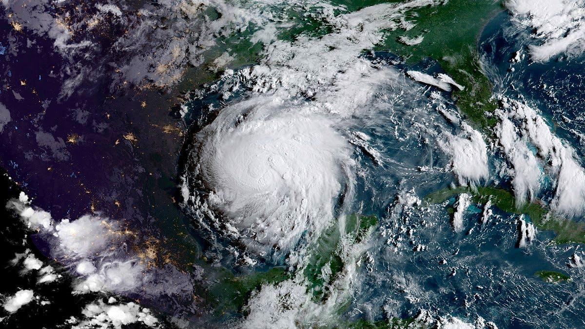 Hurricane Harvey. NOAA/NASA GOES Project