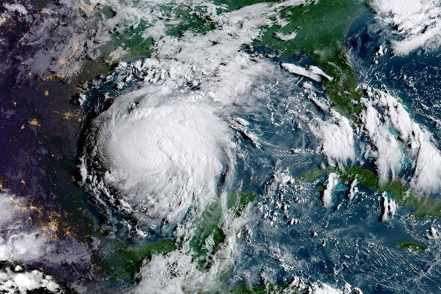Hurricane Harvey. NOAA/NASA GOES Project