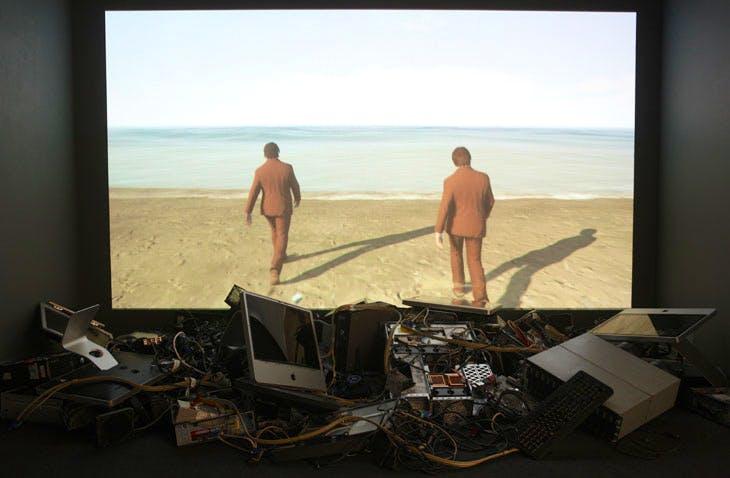 Finding Fanon (2015–17), David Blandy and Larry Achiampong. Photo: Sam Garwood