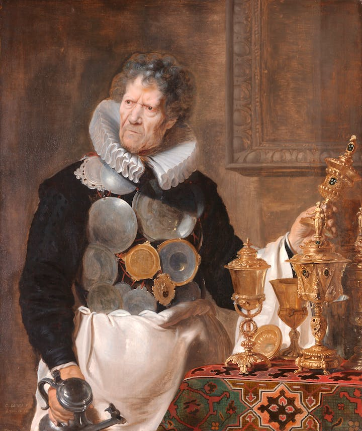 Portrait of Abraham Grapheus (1620), Cornelis de Vos. © KMSKA/Lukas – Art in Flanders VZW, Photo: Rik Klein Gotink