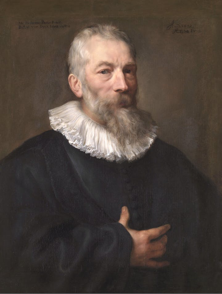 Portrait of Marten Pepijn (1632), Anthony van Dyck. © KMSKA/Lukas – Art in Flanders VZW, Photo: Hugo Maertens
