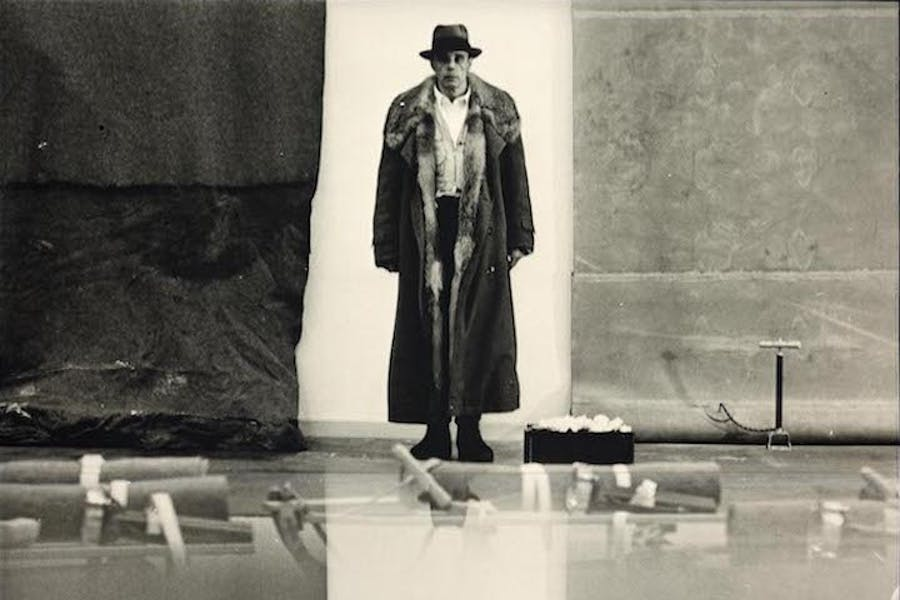 Untitled (detail; 1970), Joseph Beuys. © Photo: DACS © National Galleries of Scotland