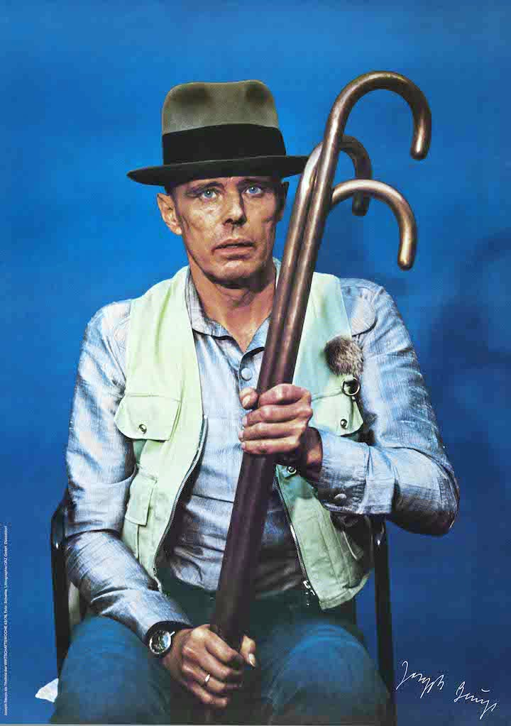 Joseph Beuys for the cover of Wirtschaftswoche [Business Week] 43/76 (1976), Joseph Beuys. © Photo: DACS © National Galleries of Scotland