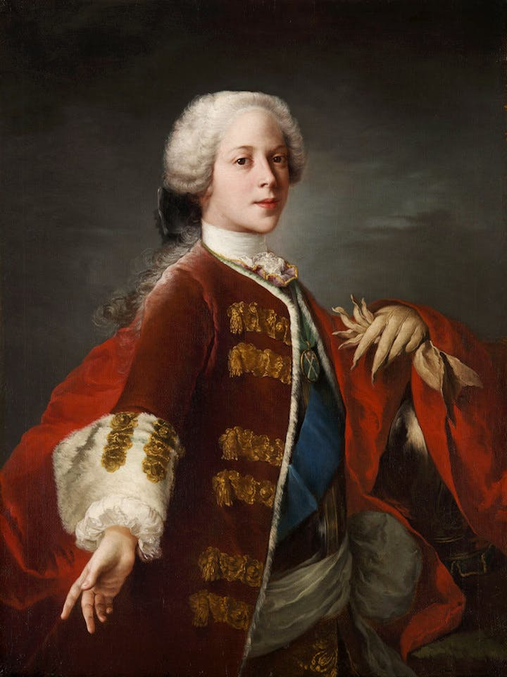 Henry Benedict Stuart (1739), Louis Gabriel Blanchet. Royal Collection Trust © Her Majesty Queen Elizabeth II