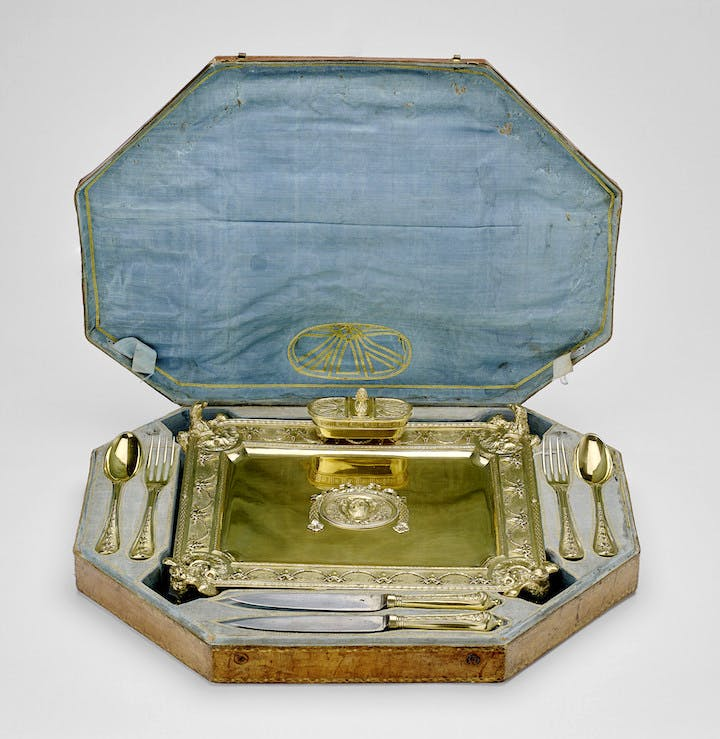 Caddinet, produced by Luigi Valadier, c. 1780–85. Royal Collection Trust © Her Majesty Queen Elizabeth II