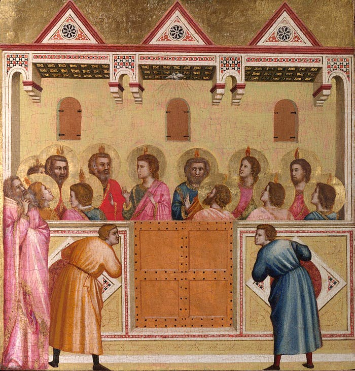 Pentecost (probably c. 1310–18), Giotto. © The National Gallery, London