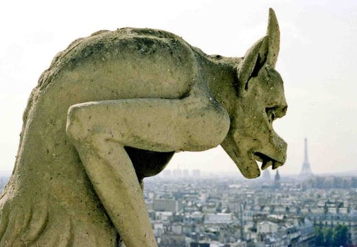 Notre Dame's gargoyles are in need of a facelift