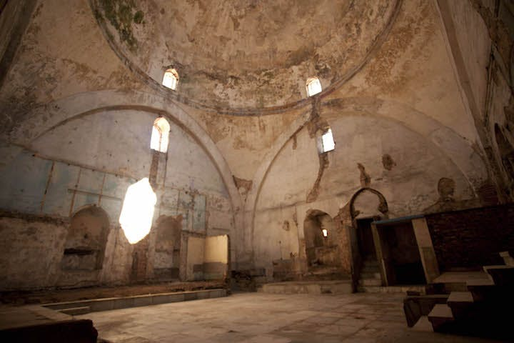 Kucukmustafa Pasa Hamami (Old Hammam), which will host a special installation.