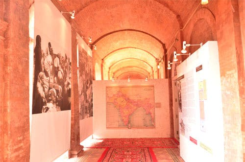 Entrance displays at the Partition Museum, Amritsar