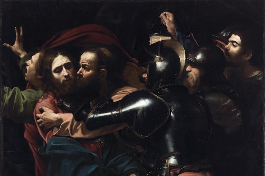 The Taking of Christ (1602), Michelangelo Merisi da Caravaggio. © The National Gallery of Ireland, Dublin