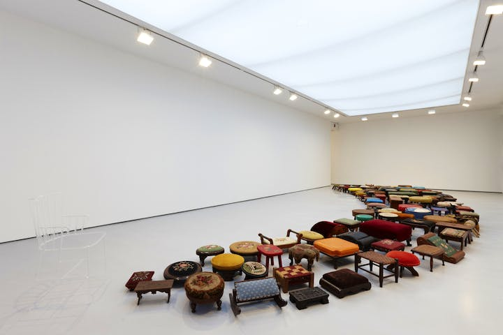 Un–Rest (2010), Valeska Soares. Courtesy of the artist, Photo: Ronald Amstuz