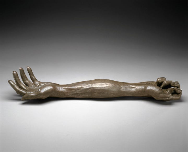 Give or Take (2002), Louise Bourgeois. Photo: Christopher Burke, © The Easton Foundation/Licensed by VAGA, NY