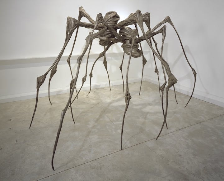 Spider Couple (2003), Louise Bourgeois. Photo: Christopher Burke, © The Easton Foundation/Licensed by VAGA, NY