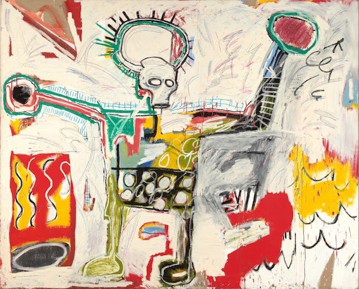 Untitled (1982), Jean-Michel Basquiat. Courtesy Museum Boijmans Van Beuningen, Rotterdam © The Estate of Jean-Michel Basquiat. Licensed by Artestar, New York. Photo: Studio Tromp, Rotterdam