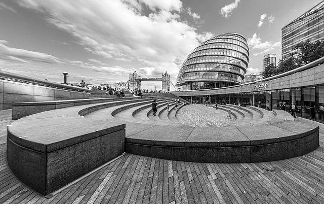 'The Scoop' at More London. Photo: Wikimedia Commons