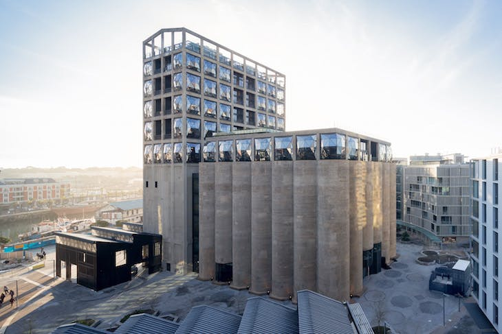 View of Zeitz MOCAA in Silo Square. Photo: Iwan Baan