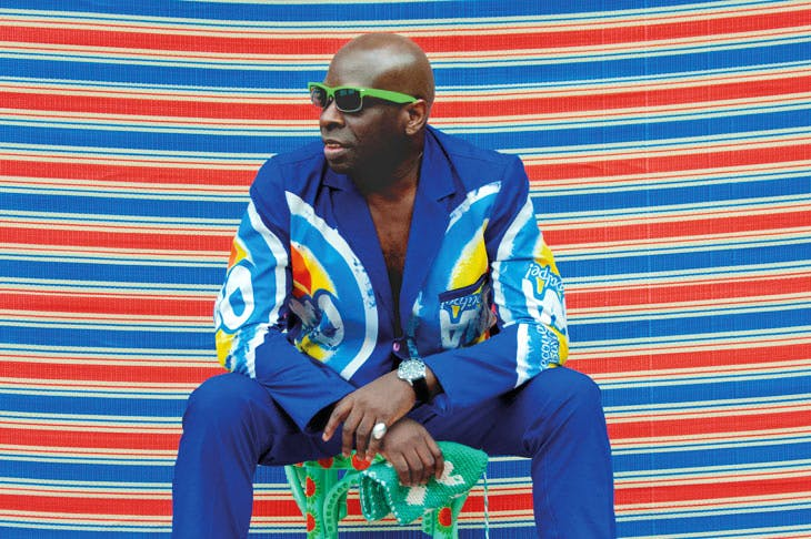 Michael Garnette Sittin'. © Hassan Hajjaj. Special Projects, 1:54 Contemporary African Art Fair
