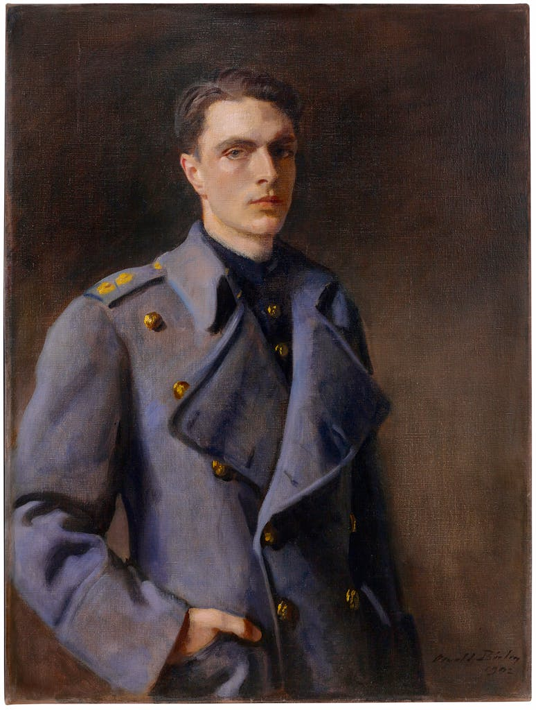 Sir Anthony Meyer, 3rd Bt, (1942), Oswald Birley, private collection