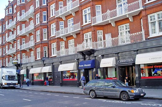 Christie's in South Kensington in 2005.